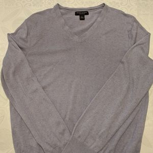 Banana republic men's L silk and cashmere sweater